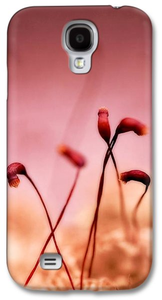 Moss Galaxy S4 Cases - Small World Galaxy S4 Case by Priska Wettstein