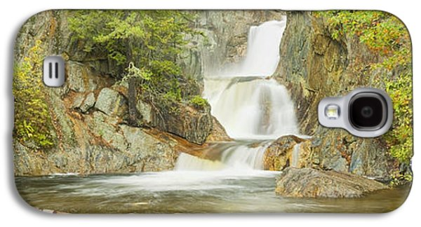 Landscapes Photographs Galaxy S4 Cases - Smalls Falls In Western Maine Panorama Galaxy S4 Case by Keith Webber Jr