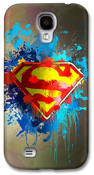 Crime Fighter Galaxy S4 Cases - Smallville Galaxy S4 Case by Anthony Mwangi