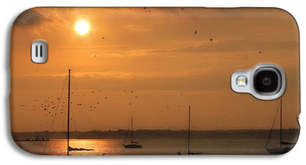 Docked Sailboat Galaxy S4 Cases - Smell the Sea Galaxy S4 Case by Lori Deiter