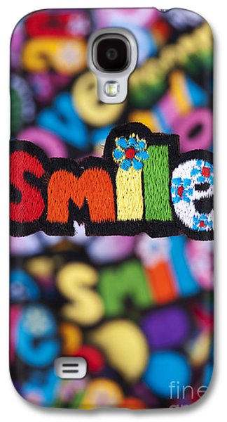 Patch Galaxy S4 Cases - Smile Galaxy S4 Case by Tim Gainey