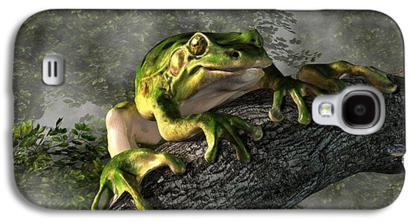 Smiling Frog Galaxy S4 Case by Daniel Eskridge