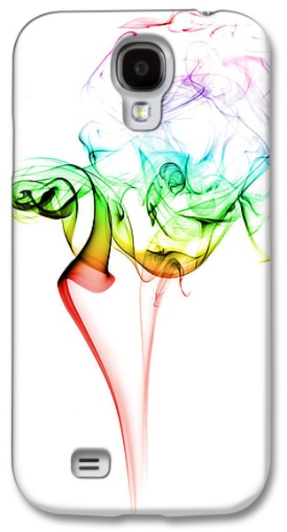 Gradient Galaxy S4 Cases - Smoke and Colours Galaxy S4 Case by Samuel Whitton
