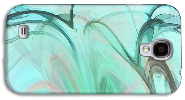 Recently Sold -  - Abstract Digital Digital Art Galaxy S4 Cases - Smokescreen Fractal 5 Galaxy S4 Case by John Lynch