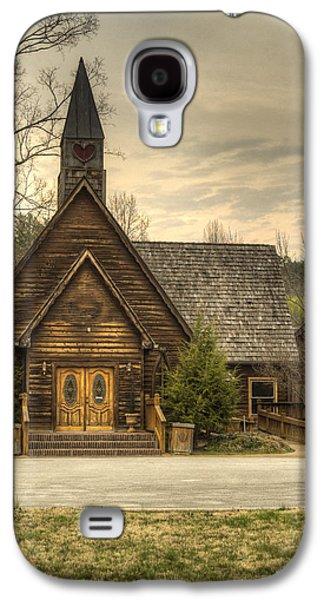 Animation Photographs Galaxy S4 Cases - Smokey Mountain Love Chapel 2 Galaxy S4 Case by Douglas Barnett