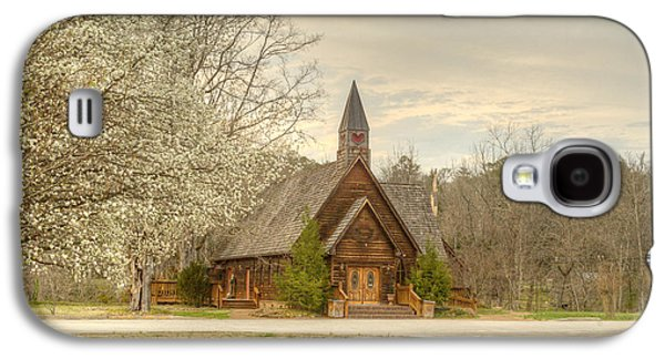 Animation Galaxy S4 Cases - Smokey Mountain Love Chapel 3 Galaxy S4 Case by Douglas Barnett