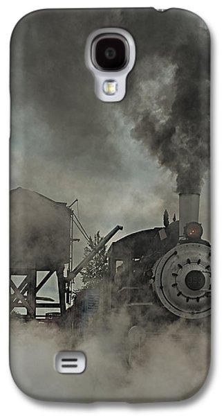 Machinery Galaxy S4 Cases - Smokin Engine 353 Galaxy S4 Case by Paul Freidlund