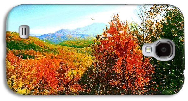 Smoky Mountain Autumn Galaxy S4 Case by CHAZ Daugherty