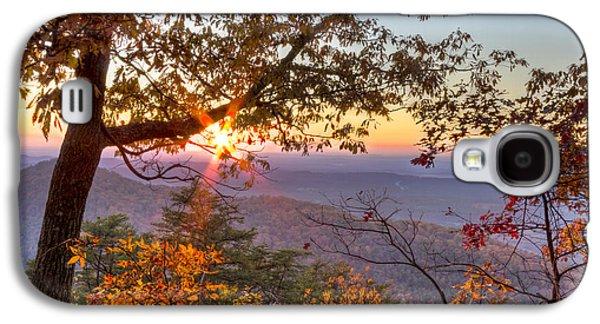River Scenes Photographs Galaxy S4 Cases - Smoky Mountain High Galaxy S4 Case by Debra and Dave Vanderlaan