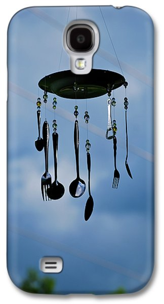 Contemplative Photographs Galaxy S4 Cases - Smoky Mountain Windchime Galaxy S4 Case by Christi Kraft