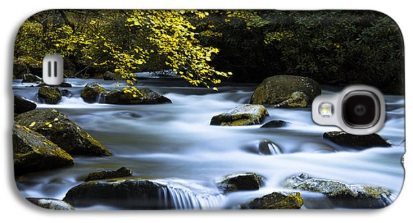 Waterscape Galaxy S4 Cases - Smoky Stream Galaxy S4 Case by Chad Dutson