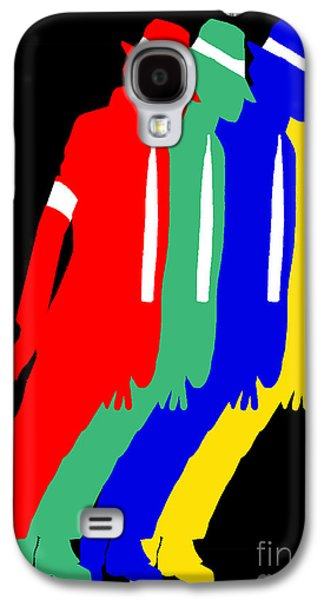 Mj Digital Art Galaxy S4 Cases - Smooth Criminal Galaxy S4 Case by Stanley Slaughter Jr