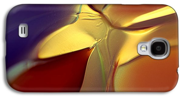 Storm Glass Galaxy S4 Cases - Smooth Moves Galaxy S4 Case by Omaste Witkowski