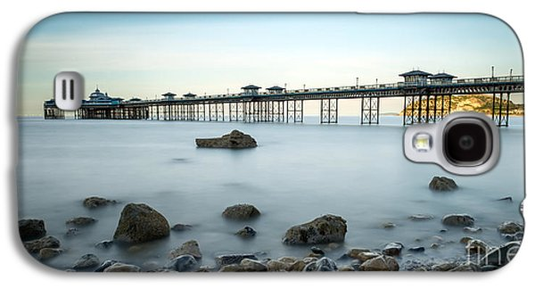 Pier Digital Galaxy S4 Cases - Smooth Waters Galaxy S4 Case by Adrian Evans