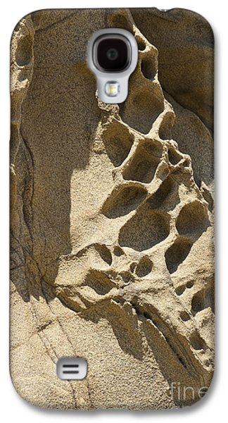 Holes In Sandstone Galaxy S4 Cases - Snadstone rock Formations in Big Sur Galaxy S4 Case by Artist and Photographer Laura Wrede