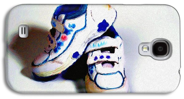 Sneakers Mixed Media Galaxy S4 Cases - Sneakers Galaxy S4 Case by Tyler Robbins