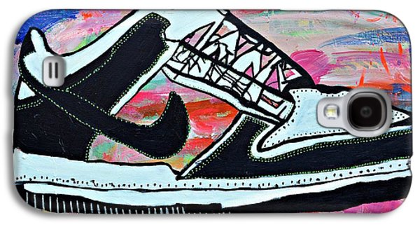 Nike Paintings Galaxy S4 Cases - Sneaks Galaxy S4 Case by Nicole Gavin