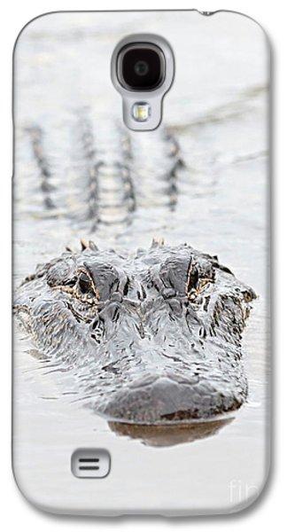 Sneaky Swamp Gator Galaxy S4 Case by Carol Groenen