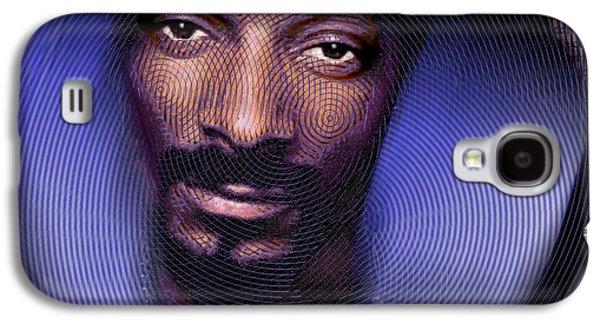 Snoop And Lyrics Galaxy S4 Case by Tony Rubino