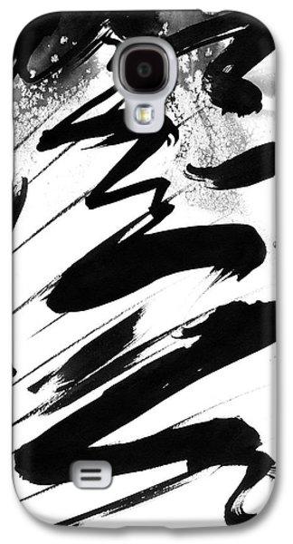 Indian Ink Galaxy S4 Cases - Snow-Clad Mountain Galaxy S4 Case by Hakon Soreide