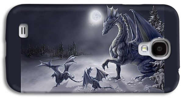 Moon Digital Galaxy S4 Cases - Snow Day Galaxy S4 Case by Rob Carlos