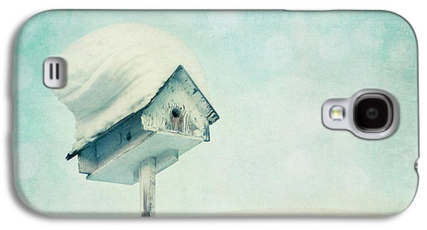 Overhang Photographs Galaxy S4 Cases - Snowbirds Home Galaxy S4 Case by Priska Wettstein