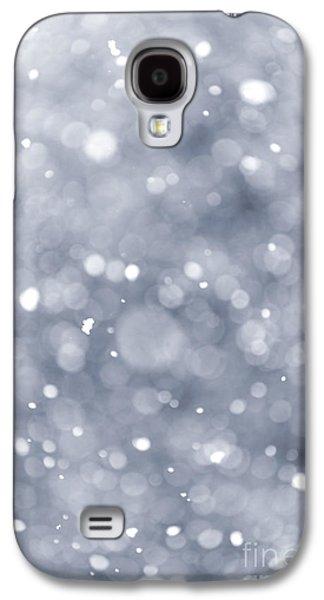 Winter Night Galaxy S4 Cases - Snowfall  Galaxy S4 Case by Elena Elisseeva