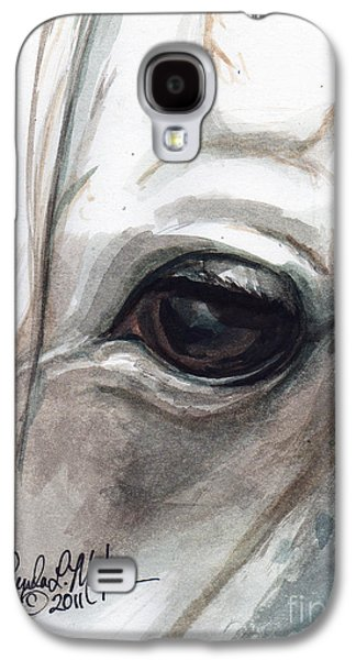 Saving Paintings Galaxy S4 Cases - Snowman Galaxy S4 Case by Linda L Martin