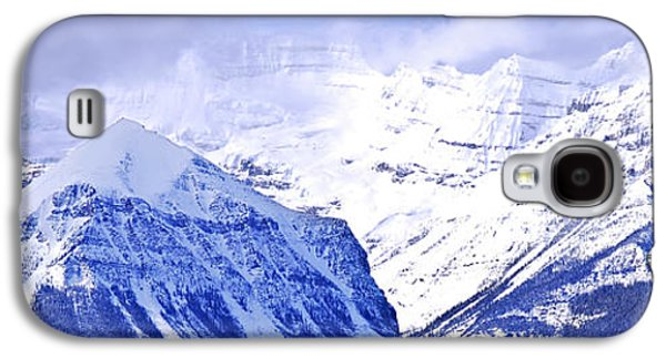 Snow-covered Landscape Galaxy S4 Cases - Snowy mountains Galaxy S4 Case by Elena Elisseeva