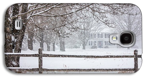 Kinkade Galaxy S4 Cases - Snowy New England Galaxy S4 Case by Benjamin Williamson