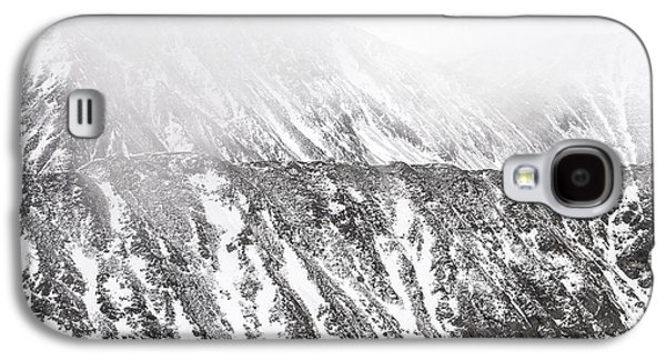 Unique View Galaxy S4 Cases - Snowy Ridge Abstract Galaxy S4 Case by Aaron Spong