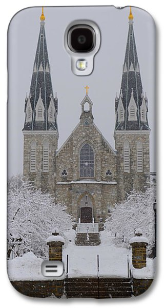 Snowy Digital Art Galaxy S4 Cases - Snowy Villanova University Galaxy S4 Case by Bill Cannon