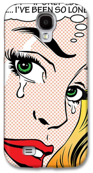 Torn Galaxy S4 Cases - So Lonely Galaxy S4 Case by Gary Grayson