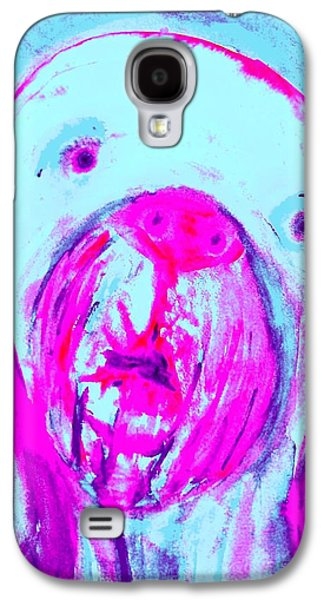Component Paintings Galaxy S4 Cases - tell me I am the only one Galaxy S4 Case by Hilde Widerberg