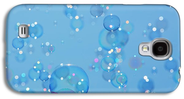 Orb* Galaxy S4 Cases - Soap bubbles Galaxy S4 Case by Jane Rix