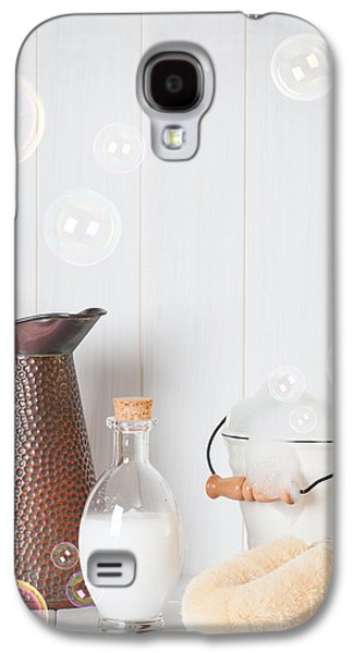 Water Jug Galaxy S4 Cases - Soap Suds Galaxy S4 Case by Amanda And Christopher Elwell