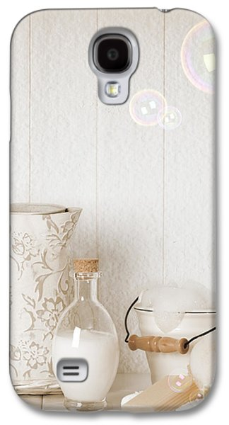 Water Jug Galaxy S4 Cases - Soap Suds With Bubbles Galaxy S4 Case by Amanda And Christopher Elwell