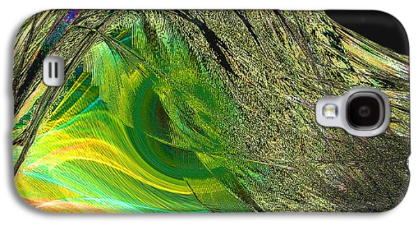 Abstract Digital Paintings Galaxy S4 Cases - Soaring Wing Galaxy S4 Case by Thomas Bryant