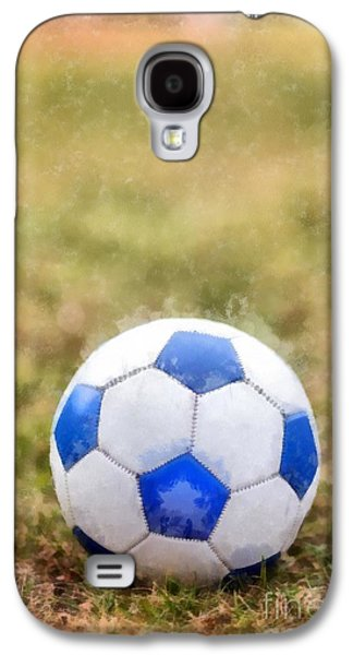 Soccer Photographs Galaxy S4 Cases - Soccer Galaxy S4 Case by Edward Fielding