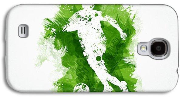 Soccer Player Galaxy S4 Case by Aged Pixel
