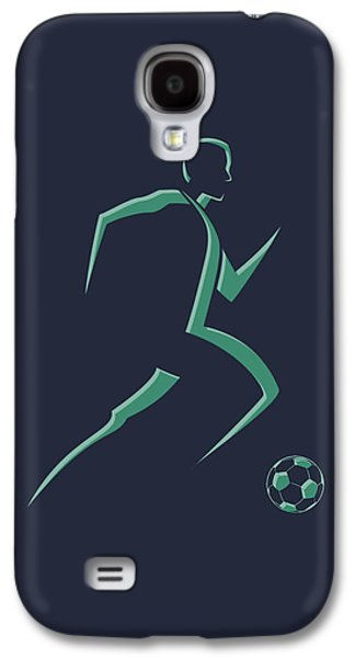 Soccer Photographs Galaxy S4 Cases - Soccer Player1 Galaxy S4 Case by Joe Hamilton
