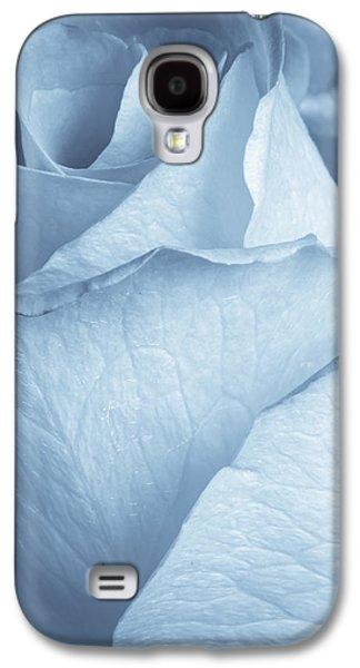Selenium Galaxy S4 Cases - Soft Blue Galaxy S4 Case by Heidi Smith