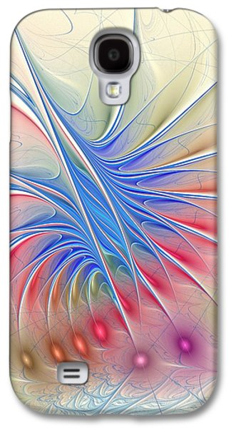 Light Galaxy S4 Cases - Soft Colors Galaxy S4 Case by Anastasiya Malakhova