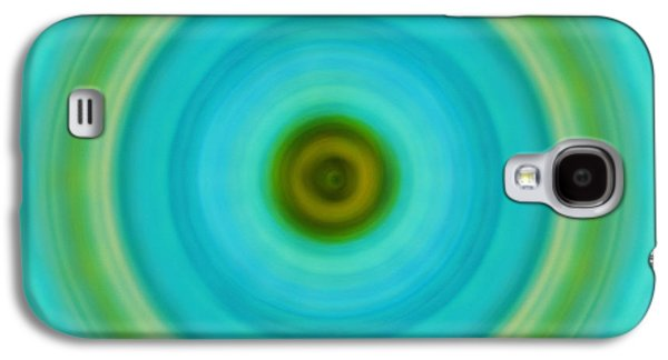 Visionary Paintings Galaxy S4 Cases - Soft Healing - Energy Art By Sharon Cummings Galaxy S4 Case by Sharon Cummings