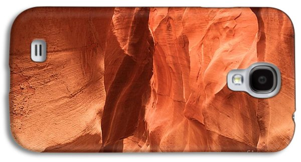 Holes In Sandstone Galaxy S4 Cases - Soft Sculpted Sandstone Walls Galaxy S4 Case by Adam Jewell