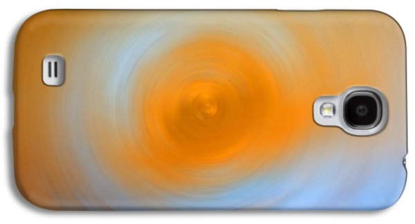 Abstract Movement Galaxy S4 Cases - Soft Sunrise - Energy Art By Sharon Cummings Galaxy S4 Case by Sharon Cummings