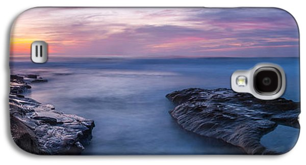 Ocean Panorama Galaxy S4 Cases - Soft Waters Galaxy S4 Case by Peter Tellone