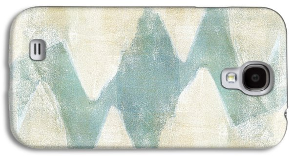 Carol Leigh Galaxy S4 Cases - Softly Green 1 Square Galaxy S4 Case by Carol Leigh