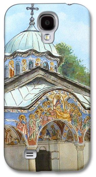 Orthodox Paintings Galaxy S4 Cases - Sokolski Monastery Bulgaria Galaxy S4 Case by Henrieta Maneva