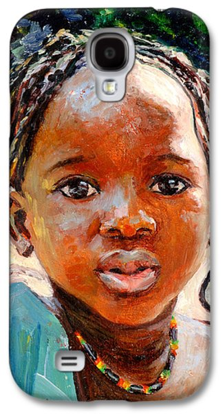 Portraiture Galaxy S4 Cases - Sokoro Galaxy S4 Case by Tilly Willis